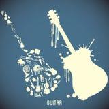 hög instrumentmusik för contrast vektor illustrationer