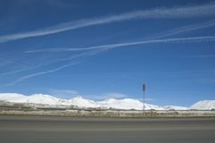 hög körbana för colorado land Royaltyfri Fotografi