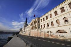 hög kalkon för istanbul kuleliskola Arkivbild