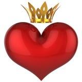 hög konungförälskelse lycklig res för hjärta Royaltyfri Fotografi