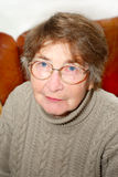 hög kvinna arkivbild