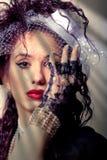 hög kvinna för mode fotografering för bildbyråer