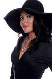 hög kvinna för mode Royaltyfria Foton