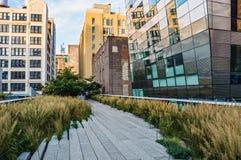Hög linje gångbana Arkivfoto