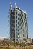 hög lyxig bostadsstigning arkivbilder