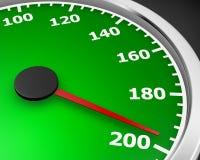 hög möjlig hastighet för bakgrundsdisko Royaltyfri Fotografi
