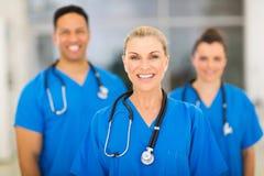 Hög medicinsk kirurg Arkivfoton