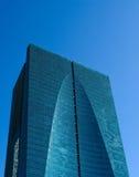 hög miami för blå byggnad stigning arkivfoto