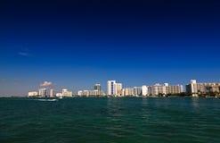 hög miami för strandbyggnader stigning Royaltyfria Bilder