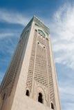 hög minaretsky Royaltyfria Foton