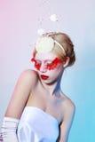 hög modell för mode fotografering för bildbyråer
