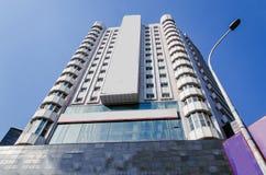 hög modern skyskrapa Arkivbilder