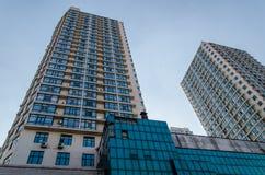 hög modern skyskrapa Royaltyfri Foto