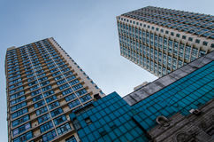 hög modern skyskrapa Royaltyfri Fotografi
