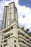 hög modern stigning för lägenhet arkivbild