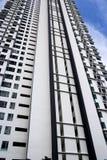 hög modern stigning för lägenheter royaltyfri fotografi