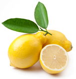 hög mogen citronfotokvalitet Royaltyfria Foton