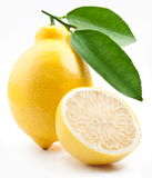 hög mogen citronfotokvalitet Arkivbild
