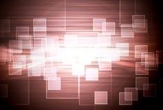 hög mosaiktech för sammansättning Arkivbilder