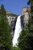 hög nationalpark yosemite för falls Royaltyfria Foton