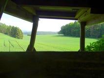Hög plats i kullarna arkivbilder