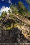 hög rock Royaltyfri Bild