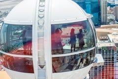 Hög rulle Ferris Wheel Royaltyfria Bilder
