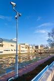 Hög säkerhet runt om Municipalitymuseet Royaltyfri Fotografi