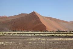 Hög sanddyn Fotografering för Bildbyråer