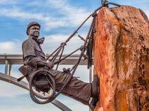Hög Scaler Joe Kine för dammsugarefördämning Arkivfoto