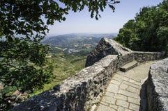Hög sikt från San Marino Royaltyfria Foton