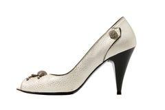hög sko för häl Arkivbild