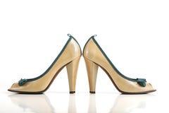 hög sko för häl arkivbilder