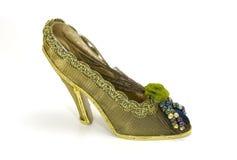 hög sko för häl royaltyfria bilder