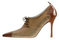 hög sko för häl Arkivfoton