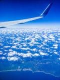hög sky royaltyfria foton