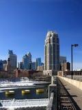 hög stigning för byggnad i city royaltyfri bild