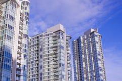 hög stigning för byggnader arkivbild