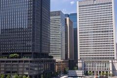 hög stigning för byggnader royaltyfria foton