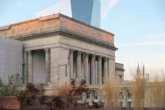 hög stigning för byggnader i city royaltyfria bilder