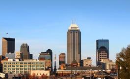 hög stigning för byggnader i city royaltyfri foto