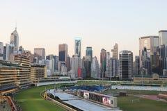 hög stigning för byggnader Vägbankfjärd, hk-ö arkivbild