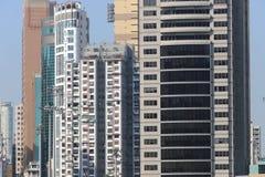 hög stigning för byggnader Vägbankfjärd, hk-ö fotografering för bildbyråer