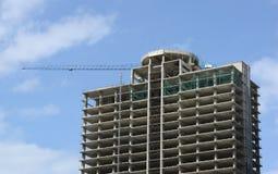 hög stigning för byggnadskonstruktion under fotografering för bildbyråer