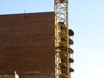 hög stigning för byggnadskonstruktion under royaltyfria bilder