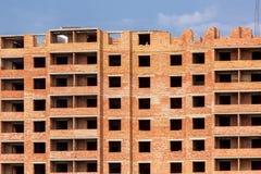 hög stigning för byggnadskonstruktion under arkivfoto
