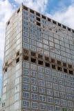hög stigning för byggnadskonstruktion under arkivbilder