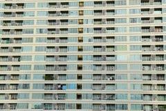 hög stigning för flerfamiljshus fotografering för bildbyråer