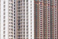 hög stigning för hyreshus fotografering för bildbyråer