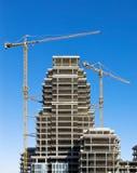 hög stigning för konstruktion Royaltyfria Foton